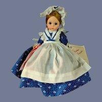 "VIntage 8"" Madame Alexander Alexanderkin Betsy Ross Doll"