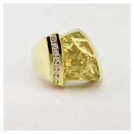 Susan Helmich Diamond Ring