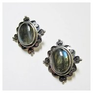 Nepalese Labradorite Earrings