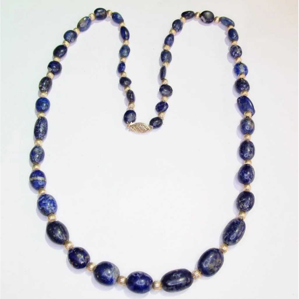 jade roundel wire wrapped rosary chain lapis lazuli blue jade faceted Round 94k gold plated Rosary Style Beaded Chain wire wrapped chain