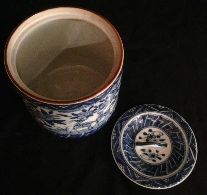 Japanese Vintage Kyoto Ware Porcelain Blue and White Porcelain : The Many Faces of Japan  Ruby Lane