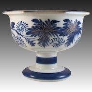 Japanese Antique Hizen  肥前 Imari Porcelain Pedestal Bowl or Compote