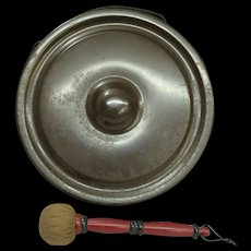 Japanese Vintage Dora- Copper Hanging Temple Drum - Red Tag Sale Item