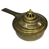 Japanese Vintage Brass Temple Altar Fitting Egōro 柄香炉 Censer or Incense Burner 香炉