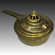 Japanese Vintage Brass Temple Altar Fitting Egōro 柄香炉 Censer or Incense Burner 香炉