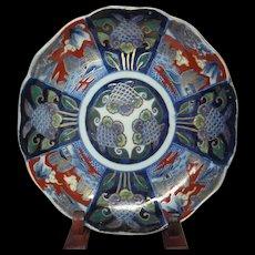 Japanese Antique Imari Porcelain Nakazara DIsh by Great Aoki Family - 2