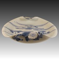 Japanese Meiji Antique Hirado 平戸 Porcelain Sweet Meat Dish