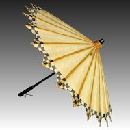 Japanese Vintage Kasa 傘 Parasol or Umbrella of Rice-Oil Paper