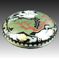 Chinese Vintage Cloisonne 香爐 Xiānglú or Incense Case, Small Box 2