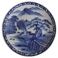 Japanese Vintage Imari Arita Large Porcelain Platter Charger