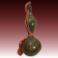 Japanese Vintage Folk Art Hyotan or Gourd