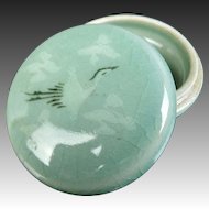 Korean Vintage Goryeo Celadon Kogo  by Josen Ware