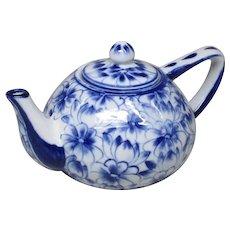 Japanese Vintage Seto yaki Porcelain Teapot