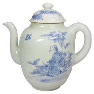 Japanese Antique Hirado 平戸 Porcelain Coffee or Chocolate Pot