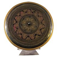 Vietnamese Colorful  Lacquered Service Tray with Lid