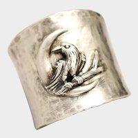 Raven Ring, Animal Jewelry, Pagan Rings, Crow Ring, Halloween Jewelry