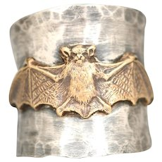 Bat Ring, Sterling Silver Ring, Gothic Ring, Bat Jewelry