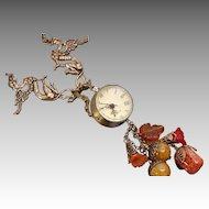Watch Necklace Watch Women Steampunk Watch Necklace