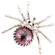 Spider Jewelry Spider Brooch Pin Spider Brooch Spider Pin