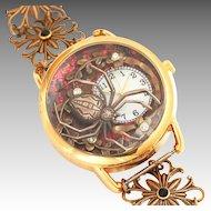Ladies Wrist Watch, Unique Watches, Spider, Womens Watches, Art Nouveau Style