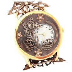 Unique Watch, Ladies Wrist Watch, Womens Watch, Butterfly Watch, Wrist Watch Women