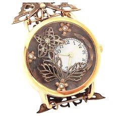 Unique Watch, Ladies Wrist Watch, Womens Watch, Butterfly Watch, Wrist Watch Women