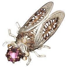 Hair Clip, Hair Pin, Cicada, Insect Jewelry, Hair Accessories, Cicada Hair Pin
