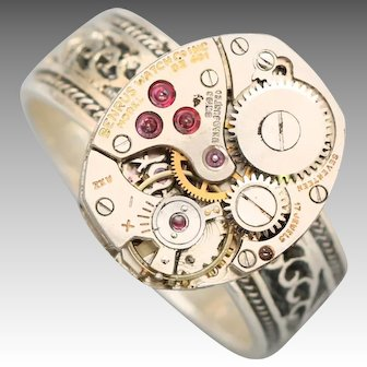 Steampunk Ring, Sterling Silver Ring, Mens Ring, Unisex Ring, Steampunk Jewelry, Steampunk Ring Men, Steampunk Ring Women