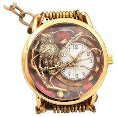Unique Wrist Watch For Women, Steampunk Watch, Owl Jewelry, Ladies Watch, Bracelet Watch, Owl