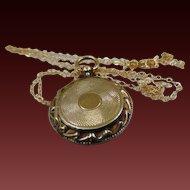 Victorian 15ct Gold Locket. Circa 1860