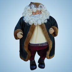 60% OFF 1940's Large Paper Mache styrofoam Santa Claus