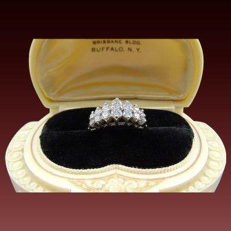 .75 TCW 14K Diamond Anniversary Band Ring