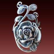 20% OFF Sterling Silver Rose leaf  ring