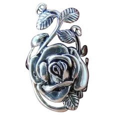 20% OFF Sterling Silver Rose leaf  ring