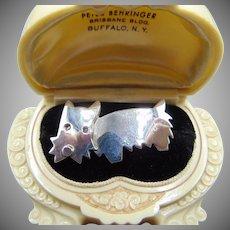 Vintage Anne Harvey Scottie Dog Pin