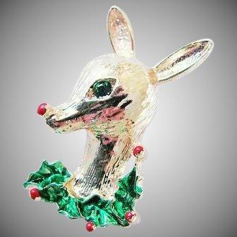 25% OFF Gerrys Reindeer Christmas Holiday Brooch