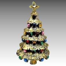 0ae3054e7237 40% OFF Hollycraft signed Christmas tree brooch. Jo Jo s Gems