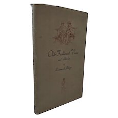 Rosamond Praeger Old Fashioned Verses and Sketches Signed Copy 1947 First Edition