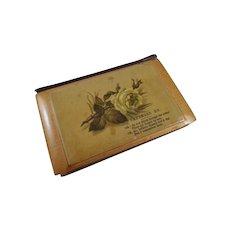 1884 Mauchline Ware Daily Text Book, Ward Lock Birthday Treasure