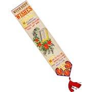 Thomas Stevens Victorian Silk Bookmark Greetings Religious