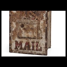Cast  Iron U.S. Mail Bank