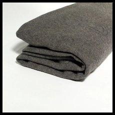 WW II Wool  Army  Blanket Stamped U S