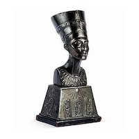Egyptian Revival Queen Nefertiti Bust