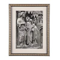 Original Print with Certificate of a 1937 Photogravure FranceIV
