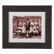 c1900 Baseball Team Photograph