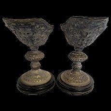 Ornate Metal Pedestals