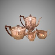 British sterling tea service by Martin & Hall in 1886