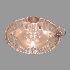 American sterling chamberstick by Howard & Co. c.1895