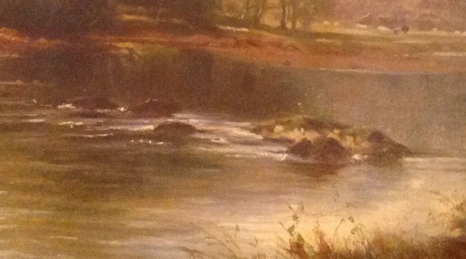 British Oil Painting By William Henry Mander 1850 1922