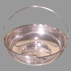Early  20th cent. sterling basket by the Watson Co.